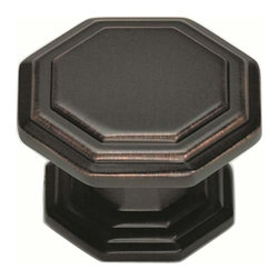 Atlas Homewares - Atlas 319-Vb Dickinson 1 1/4-Inch  Octagon Door Knob Venetian Bronze - Atlas 319-Vb Dickinson 1 1/4-Inch  Octagon Door Knob Venetian Bronze