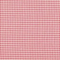 Rectangle Pillow Gingham Check Faded Rose