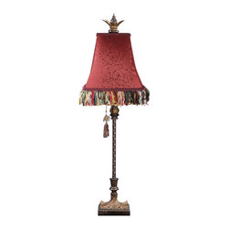Dimond Lighting - Dimond Lighting Harlow Table Lamp in Gold Leaf - Table Lamp in Gold Leaf belongs to Harlow Collection by Dimond Lighting Lamp (1)