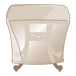 Frontgate - Outdoor Side Table Cover - Made of heavy-duty, 600 denier polyester. Lined with a layer of waterproof PVC. Soft fleece underside protects aluminum frames. 500 hour UV tested. Won't fade in the hottest sun, or crack in temperatures dropping to 0°F. We've re-engineered our best-selling premium furniture covers to provide an unparalleled level of protection for your outdoor furnishings. Designed with meticulous detail, these durable three-ply covers boast 600-denier polyester outer shell and a layer of waterproof PVC to ensure superior performance and long-lasting functionality in searing sun, blinding rain, prodigious snow, and bitter cold. Find the right cover with our Furniture Matching Guide .  .   Won't fade in the hottest sun, or crack in temperatures dropping to 0 degreesF. Double-stitched seams (6 stitches per inch). Elastic edging, drawstrings, or reinforced ties hold covers securely in place. Built-in mesh vents with protective flaps help circulate air and keep water and mildew from reaching inside. Deep seating and chaise covers include an embroidered Frontgate logo . Learn how to measure your furniture with our Measuring Guide to ensure a proper fit. Easy to care for. Imported.