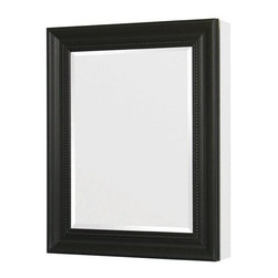 Pegasus - 24in.  x 30in.  Recessed or Surface Mount Mirrored Medicine Cabinet, Espresso - 24 in. x 30 in. Recessed or Surface Mount Mirrored Medicine Cabinet in Espresso