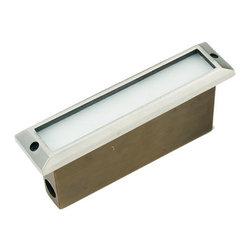 Die Cast Brass Stainless Steel LV Thin Line Step Light LV-55 - Die Cast Brass LV Thin Line Step Light