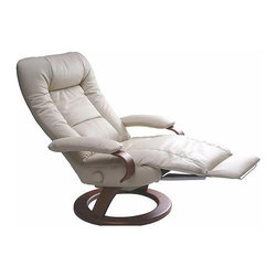 Ella Recliner By Lafer Recliners - The Ella recliner from Lafer is perfect for office and and living room.
