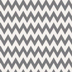 Super Area Rugs - Super Area Rugs, Metro Collection Gray & White Chevron Rug, 5' X 8' - Made from a 100% Polypropylene Soft Fiber Pile which provides comfort but is durable enough to withstand high traffic.