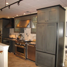 Eclectic Kitchen Cabinets by Kohl Building Products