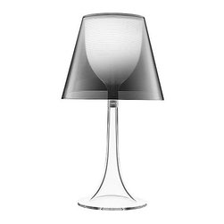 Flos - Flos | Miss K Table Lamp - Clear/Silver - Miss K Table Lamp Design by Philippe Starck in 2003-2004.