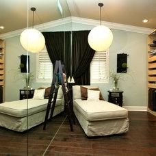 Contemporary Closet by Robeson Design
