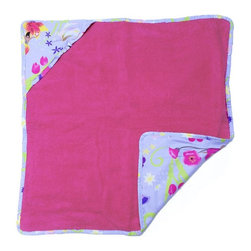 Room Magic - Room Magic Magic Garden Hooded Towel - RM24-MG - Shop for Towels from Hayneedle.com! From the bedroom to the bathroom your little buttercup will love the Room Magic Magic Garden Hooded Towel. This adorable hooded towel with designer fabric back features a colorful array of fairies flowers bees and butterflies. The complete cotton construction will ensure your baby stays warm and snuggly from the bath to the bed.About Room MagicRoom Magic doesn't just make children's furniture; they design furniture specifically for children using the magic of childhood imagination and creativity as a guiding principle. Beginning in 1999 with graphic designer Karen Andrea's attempt to create a truly lively and unique room for her five-year-old daughter Sarah the company has maintained a focus on using bright colors and unique themes that steer clear of cliched motifs. Bright and bold playful cut outs decorate the quality hardwood pieces finished with beautiful stains. With collections that are geared both to boys and to girls Room Magic provides the furniture accessories and bedding you need to bring the magical fun of childhood to your kids' rooms.
