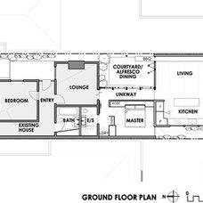 Floor Plan Convertible Courtyards House