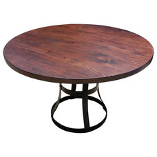 Industrial Dining Tables by Mortise & Tenon Custom Furniture Store