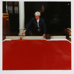 Curtis Knapp, Andy Warhol Red Series 2, Color Photograph - Artist:  Curtis Knapp, American