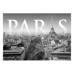 "Komar - Cite De Paris Wall Mural - This mural is 6' x 4'2"" and comes as one easy to install panel. Made in Germany. Roll Coverage: 25 square feet. Paste Included."