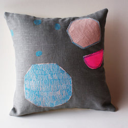 The Sun The moon and The Stars pillow cover by LeiLiLaLoo on Etsy -