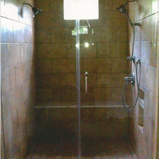 Traditional Bathroom by Plush Design Studio