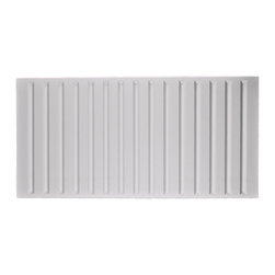 "Southland Ceiling Tile 2x5 - White - Perfect for both commercial and residential applications, these tiles are made from thick .03"" vinyl plastic. Their lightweight yet durable construction make these tiles easy to install. Waterproof, these tiles are washable and won't stain due to humidity or mildew. A perfect choice for anyone wanting to add that designer touch at an amazing price."