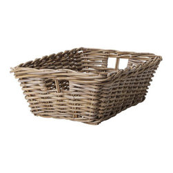 IKEA of Sweden - BYHOLMA Basket - I picked up a few of these baskets for my daughter's room to corral all of her petite things that little girls tend to have. The gray color is a nice change, and the baskets can be used to house all of those important papers that you need at the ready but don't want to have out for buyers to see.