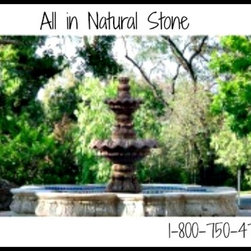 Natural Stone Fountains -