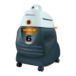 Thorne Electric - Thorne Wd650 Wet Dry Canister Vacuum - This Koblenz 6 gallon capacity vac picks up wet or dry debris and is powerful and easy to use. Comes with tools.