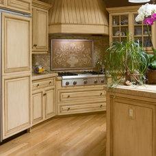 Mediterranean Kitchen by Nadia Designs