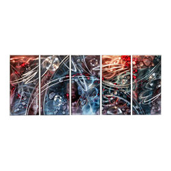 Matthew's Art Gallery - Metal Wall Art Abstract Modern Contemporary Sculpture Journey Space - Name: Journey at Space