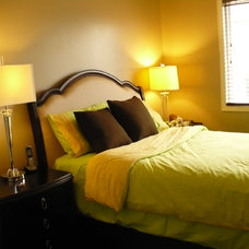 Traditional Bedroom by Kalli George Interiors
