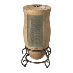 Lasko Products - Oscillating Ceramic Heater - Cold? Snap! Forget the extra sweater and let this oscillating ceramic heater do its thing. You'll bask in carefree warmth and comfort thanks to its and auto-electronic thermostat.