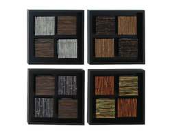 Benzara - Wood Wall Decor with Multicolor Rectangular Frames - Set of 4 - Wood Wall Decor Set of 4 Assorted creates a feeling of having something unique because of its unique design concept. It is appreciated by all the visitors. This is an excellent anytime low priced anytime Wall Decor upgrade option. Designed exclusively for limited edition, it can be fixed on any kind of wall surfaces.