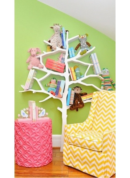Contemporary Kids Bookcases by Rosenberry Rooms