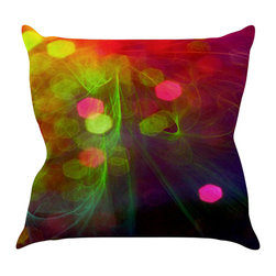 "Kess InHouse - Alison Coxon ""Dance"" Throw Pillow (18"" x 18"") - Rest among the art you love. Transform your hang out room into a hip gallery, that's also comfortable. With this pillow you can create an environment that reflects your unique style. It's amazing what a throw pillow can do to complete a room. (Kess InHouse is not responsible for pillow fighting that may occur as the result of creative stimulation)."