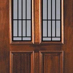 """Prehung Single Door 80 Wood Mahogany Cantania GBG Twin Lite - SKU#L11662WCA-DLTCN1BrandGlassCraftDoor TypeExteriorManufacturer CollectionTwin Lite Entry DoorsDoor ModelCantania GBGDoor MaterialWoodWoodgrainMahoganyVeneerPrice1705Door Size Options36"""" x 80"""" (3'-0"""" x 6'-8"""")  $0Core TypeDoor StyleDoor Lite StyleTwin LiteDoor Panel Style2 PanelHome Style MatchingDoor ConstructionLegacyPrehanging OptionsPrehungPrehung ConfigurationSingle DoorDoor Thickness (Inches)1.75Glass Thickness (Inches)Glass TypeDouble GlazedGlass CamingGlass FeaturesTemperedGlass StyleGlass TextureClear , RainGlass ObscurityNo Obscurity , Highest ObscurityDoor FeaturesDoor ApprovalsWind-load Rated , FSC , TCEQ , AMD , NFRC-IG , IRC , NFRC-Safety GlassDoor FinishesDoor AccessoriesWeight (lbs)310Crating Size25"""" (w)x 108"""" (l)x 52"""" (h)Lead TimeSlab Doors: 7 Business DaysPrehung:14 Business DaysPrefinished, PreHung:21 Business DaysWarrantyOne (1) year limited warranty for all unfinished wood doorsOne (1) year limited warranty for all factory?finished wood doors"""