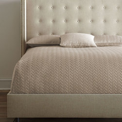 """Parlin"" Tufted Wing Bed -"