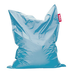 Fatboy USA - Fatboy Original Beanbag Chair, Ice Blue - Our iconic Fatboy the original is everyone's friend. It has proven it can stand out and fit in anywhere! With its generous size and energizing comfort it is always there to maximize whatever comfort you choose. Fatboy the original is truly yours! Measures 55 inches wide by 70 inches long.