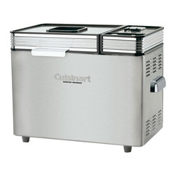 Cuisinart - Cuisinart 2 lbs. Convection Bread Maker - 16 pre-programmed menu options. including exclusive low-carb. gluten-free and artisan dough
