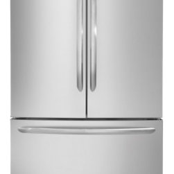 Frigidaire - Gallery FGHG2366PF 22.6 Cu. Ft. French Door Counter-Depth Refrigerator With Pure - Designed to work in harmony with the way you live the Energy Star Rated Frigidaire FGHG2366PF is built to hold it all This large capacity refrigerator gives you room to store more with a total capacity of 226 Cubic Feet The Adjustable Interior Storag...