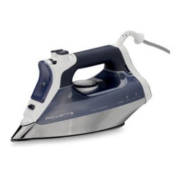 Rowenta - Rowenta Pro Master Iron - This powerful 1700-watt professional iron has a Microsteam stainless soleplate with a precision tip for advanced steam distribution. A long lasting burst of steam allows for efficient and easy steaming.