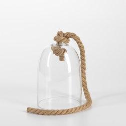 Decor - Maroc Glass Cloche with Rope Handle