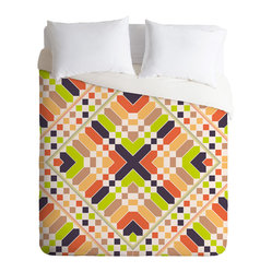 Budi Kwan Retrographic Picnic Duvet Cover, King