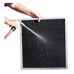BoAir - BoAir 5-Stage Aluminum Electrostatic Furnace Filter - Washable, Permanent, 16x20 - ** 5-Stage Filtration