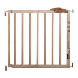 "Dreambaby - Dreambaby Cottage Gro Gate - Rein in your growing family with The Dreambaby Cottage Gro Gate. Crafted with beautiful natural wood, which is both sophisticated and safe for your little ones, this subtle stunner is adjustable, fitting openings from 31"" to 41."" Featuring a two-step opening system and the ability to swing in both directions, your all too often hands full lifestyle can be accommodated.  Now that's safety by design!"