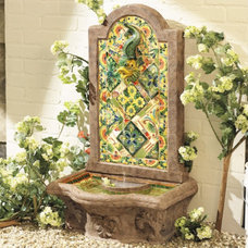 traditional outdoor fountains by Ballard Designs