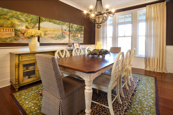Traditional Dining Room by Curtiss W. Byrne Architect, LLC