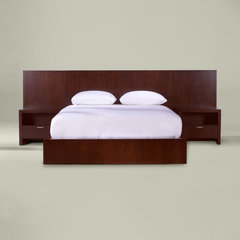 modern beds by Ethan Allen