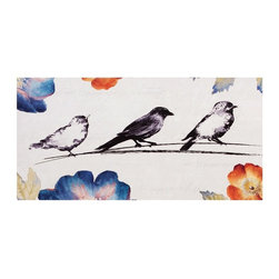 Propac Images - Song Birds Canvas Wall Art - Set of 2 - 24W x 12H in. ea. - 4516 - Shop for Framed Art and Posters from Hayneedle.com! About Propac ImagesProPac Images or PROmotional PrePACKED Images got its start in 1990 with framed promotional posters and an emphasis on recycling drop-out materials but over the past few decades they've grown with consumer demands. Today Propac Images stands as an organization that employs over 40 people occupies a 50 000 square foot facility and hosts five permanent gift and furniture showrooms across the USA. Propac's desire to be your number one choice in affordable wall decor knows no bounds and their personal mantra of Treat Everyone with Fairness guarantees you a satisfying shopping experience every time.