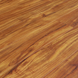 """Hallmark - Acacia Light Laminate Hand Scraped - Samples 8"""" x 5"""" - This listing is for 2 piece of wood floor samples"""