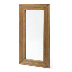 Hamptons Mirror - Crafted with the aim to create an antique appeal with long lasting durability, this Hamptons Mirror clearly displays the British artistry. Incorporated with a beveled mirror, this masterpiece will grace any elite's decor. Lavish outlook and sturdy built makes this mirror a pompous part of the Antique European country collection.