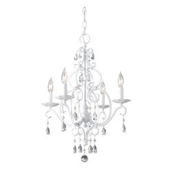 Murray Feiss - Murray Feiss F1904/4 Chateau 4 Light Mini-Chandelier - Features: