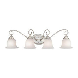 Vaxcel Lighting - Vaxcel Lighting PA-VLD004 Picasso 4 Light Vanity Light - Features: