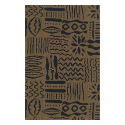 """Blazing Needles - Blazing Needles Tapestry Full Size Futon Cover in Hieroglyphics-8"""" Full - Blazing Needles - Futon Covers - 9687/T4 - Blazing Needles Designs has been known as one of the oldest indoor and outdoor cushions manufacturers in the United States for over 23 years."""