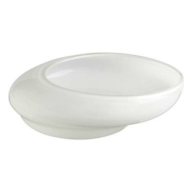 Large White Oyster Bowl - Large White Oyster Bowl