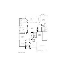 two story floor plan 4 bedrooms study